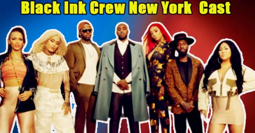 Image of Black Ink Crew New York cast crew