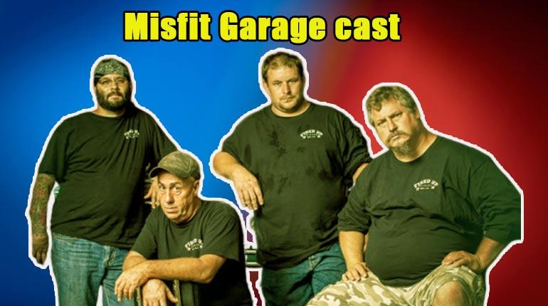 Image of Misfit Garage cast