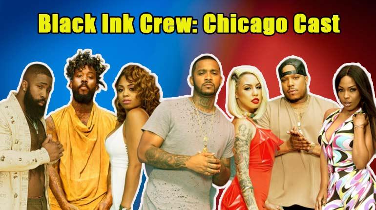 Image of Black Ink Crew: Chicago Casts