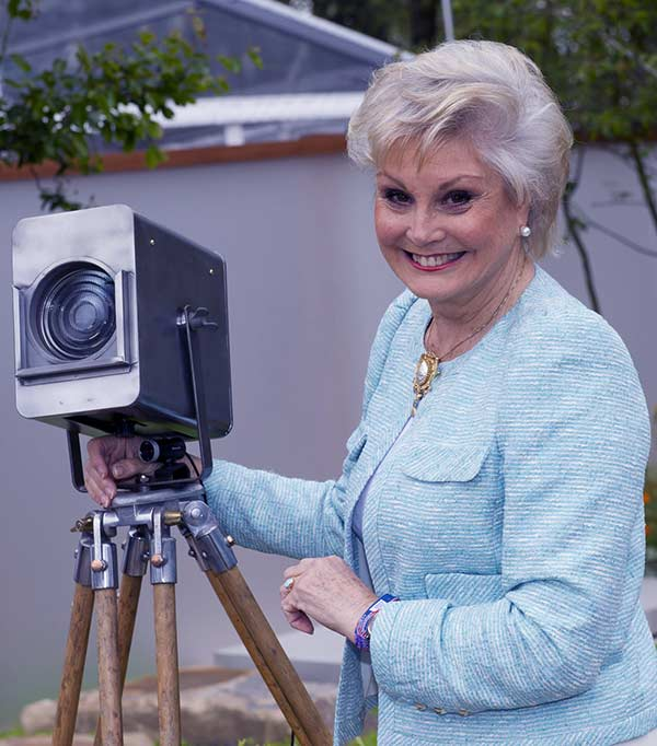 Image of Antiques Roadshow cast Angela Rippon