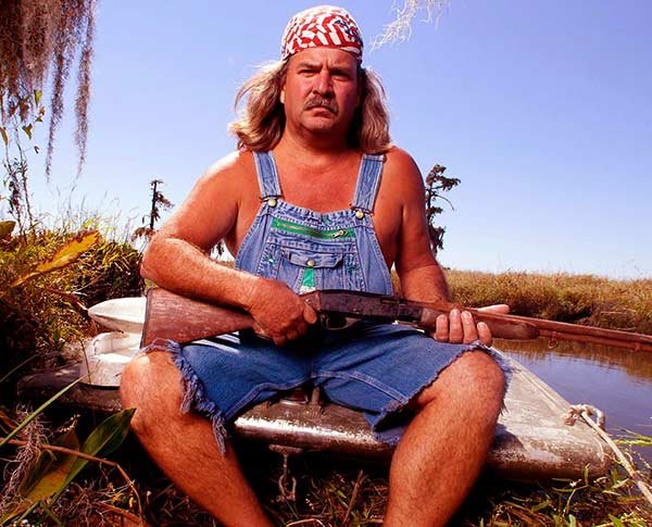 Image of Swamp People cast Bruce Mitchell