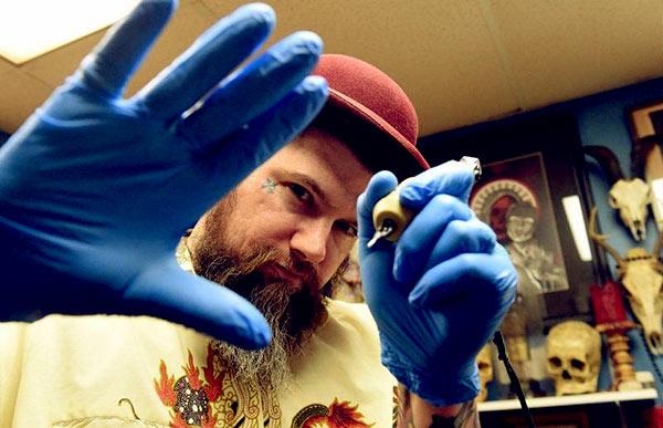 Image of Ink Master cast Creepy Jason