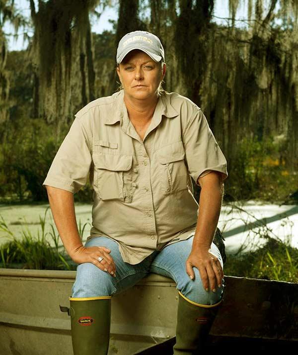 Image of Swamp People cast Liz Cavalier