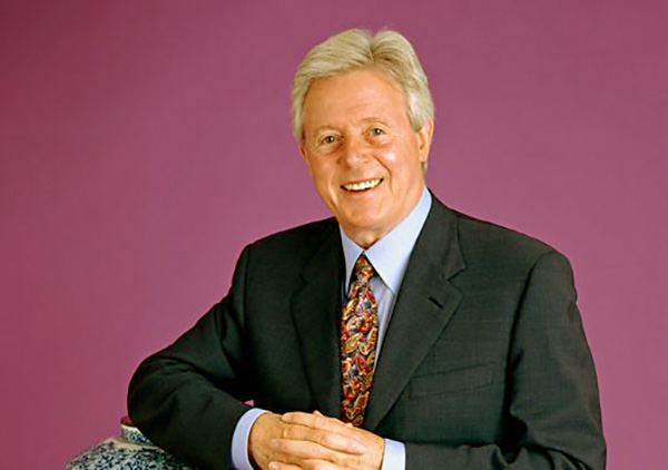 Image of Retired TV Presenter Michael Aspel