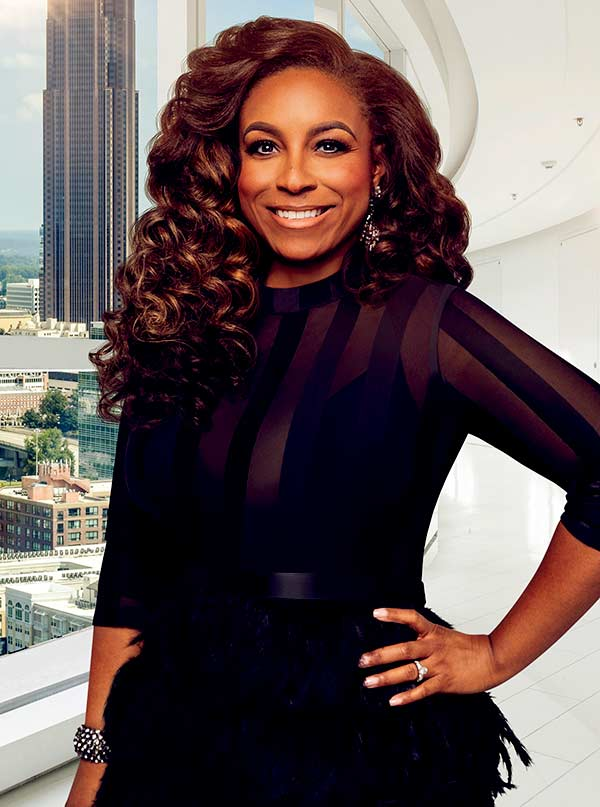 Image of Caption: Buffie Purselle for Married to Medicine on Bravo TV