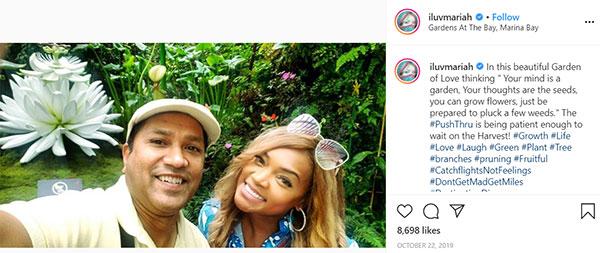 Image of Caption: Mariah Huq and her Husband's net worth