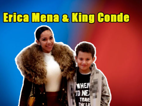 Image of Everything about Erica Mena son King Conde. Who is his father.