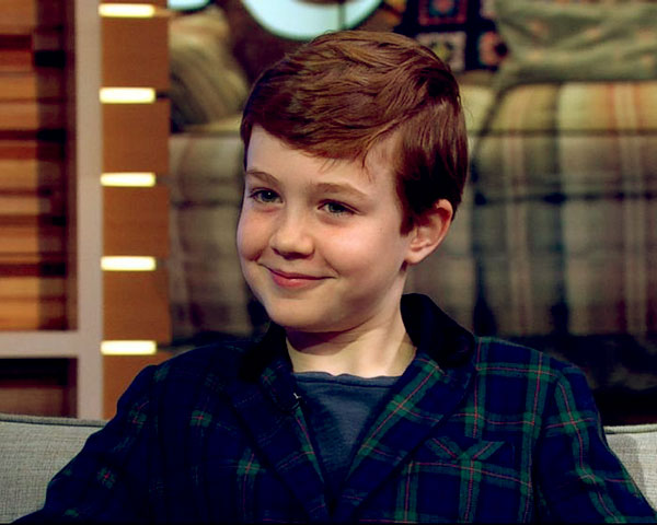 Image of The Conners cast Ames McNamara