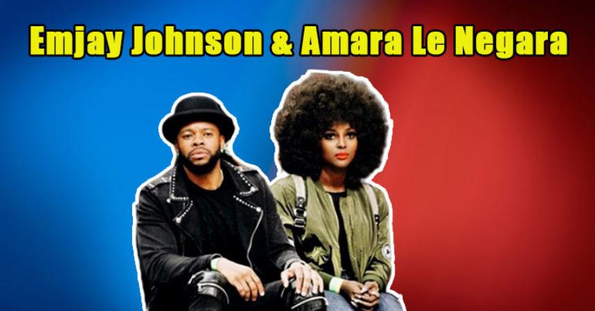 Image of Amara Le Negara Dating Shay Johnson's Brother, Emjay. WHAT!?!