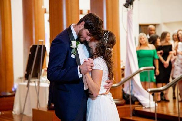 Image of Katie Conrad & Derek Sherman are dating, married plan soon