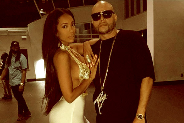 Image of Caption: Erica Mena with her ex-boyfriend Raul Conde