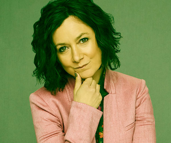 Image of The Conners cast Sara Gilbert