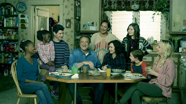 Image of The Conners cast