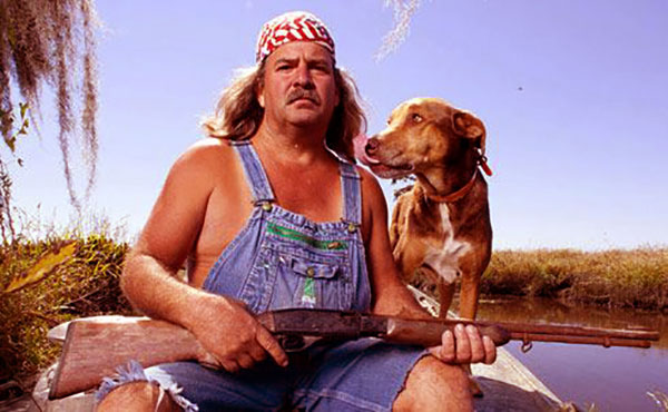 Image of Caption: Swamp People cast Bruce Mitchell