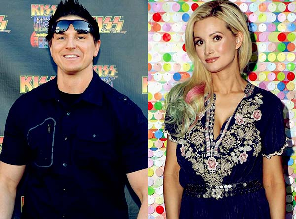 Image of Caption: Zak Bagans is dating the former Playboy model, Holly Madison