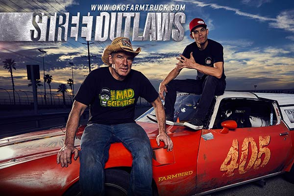 Image of Caption: Discovery's Street Outlaws
