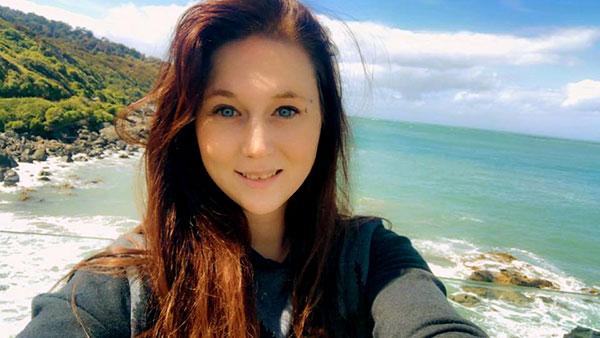 Image of Caption: Ruby Mahoney in New Zealand