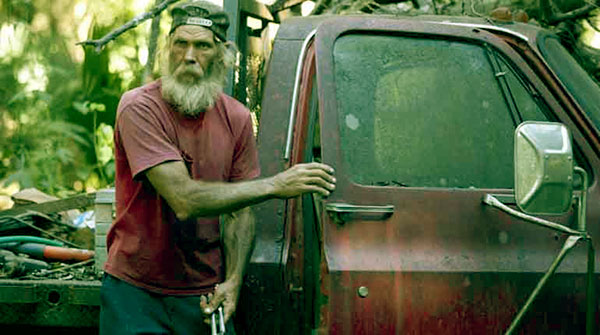 Image of Caption: Mitchell Guist on Swamp People