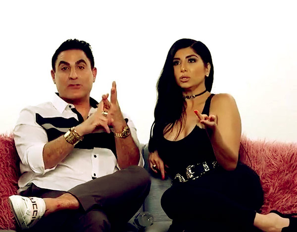 Image of Caption: Destiney Rose and Reza Farahan are friends from birth