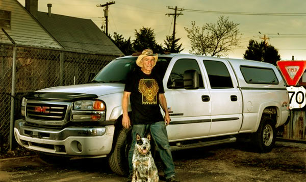 Image of Caption: Farmtruck and His Daily Ride