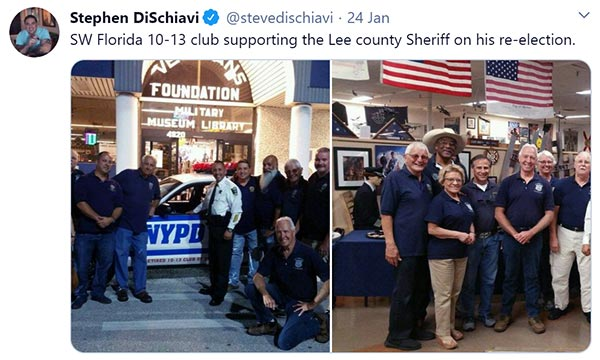 Image of Caption: Steve DiSchiavi was an NYPD detective for 21 years