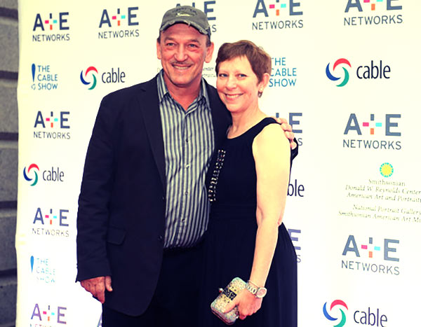 Image of Caption: Troy Landry and his wife, Bernita Landry