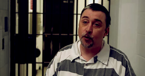 Image of Caption: Steven Ray Tickle in Prison