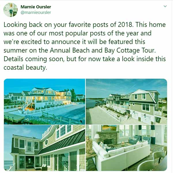 Image of Caption: One of Marnie Orsular's biggest project houses from 2018