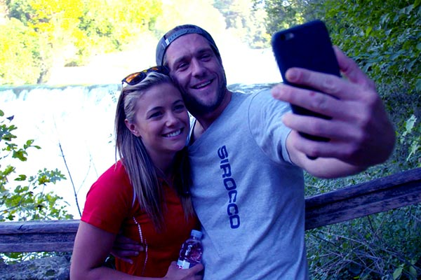 Image of Caption: Adam Gick and his rumored girlfriend Malia White