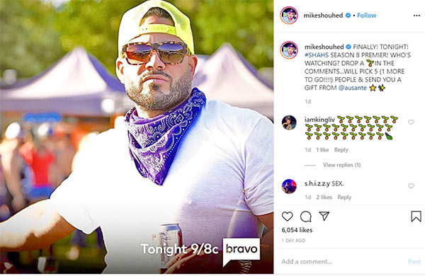 Image of Caption: Mike Shouhed's net worth and dating life
