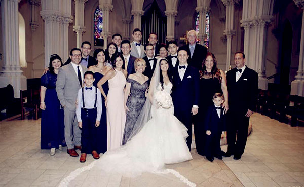 Image of Caption: Steve DiSchiavi not seen in daughter's wedding pics