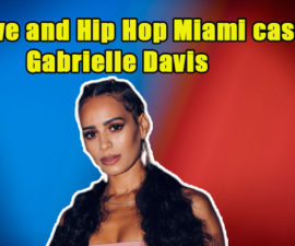 Image of Gabrielle Davis; meet Gabby from Love and Hip Hop Miami