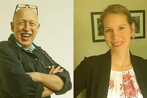 Image of Caption: Dr. Pol and Dr. Emily Thomas