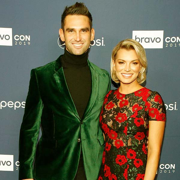 Image of Caption: Carl Radke with his girlfriend Lindsay Hubbard
