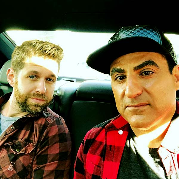 Image of Caption: Reza Farahan and Adam Neely tied the nuptial in 2015