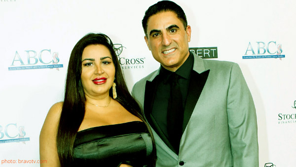 Image of Caption: Reza Farahan and MJ are no more best friend