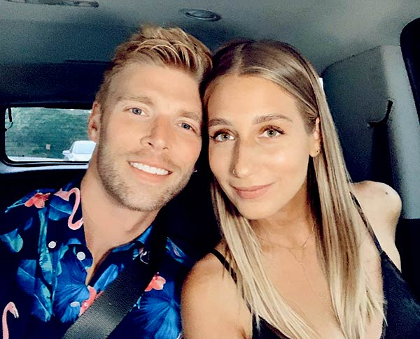 Image of Caption: Amanda Batula and Kyle Cooke are still serious about getting married