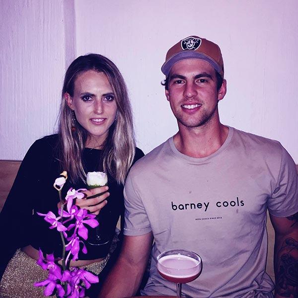 Image of Caption: Tyler Mahoney dating boyfriend, Jack Lathey