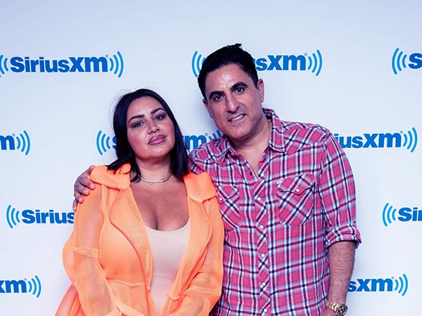 Image of Caption: Mercedes Javid and Reza Farahan are no more best friend
