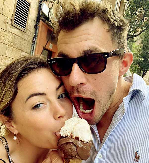 Image of Caption: Malia's boyfriend Tom is a yacht chef