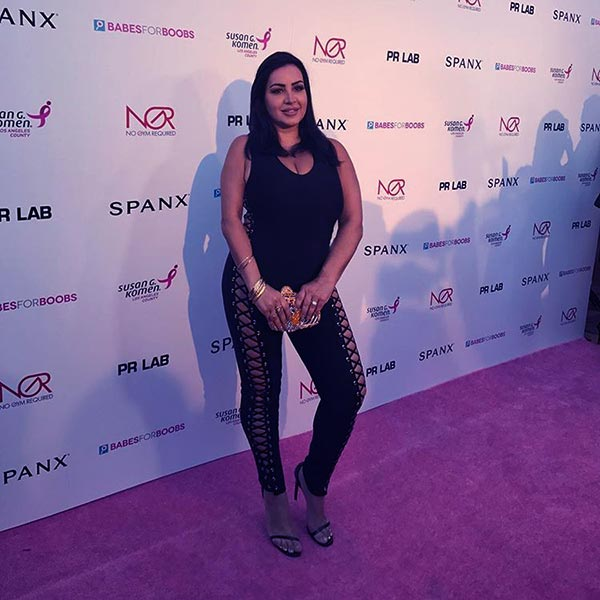 Image of Caption: Mercedes Javid shared a snap from the event and captioned it, 5lbas away from 20, so far