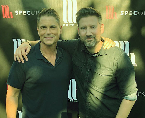 Image of Rob Lowe is an advocate of Nicole's boyfriend's organization