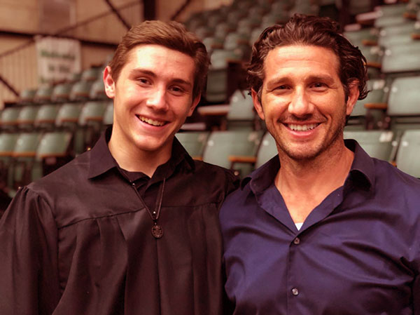 Image of Will Willis with the younger son, Jacob
