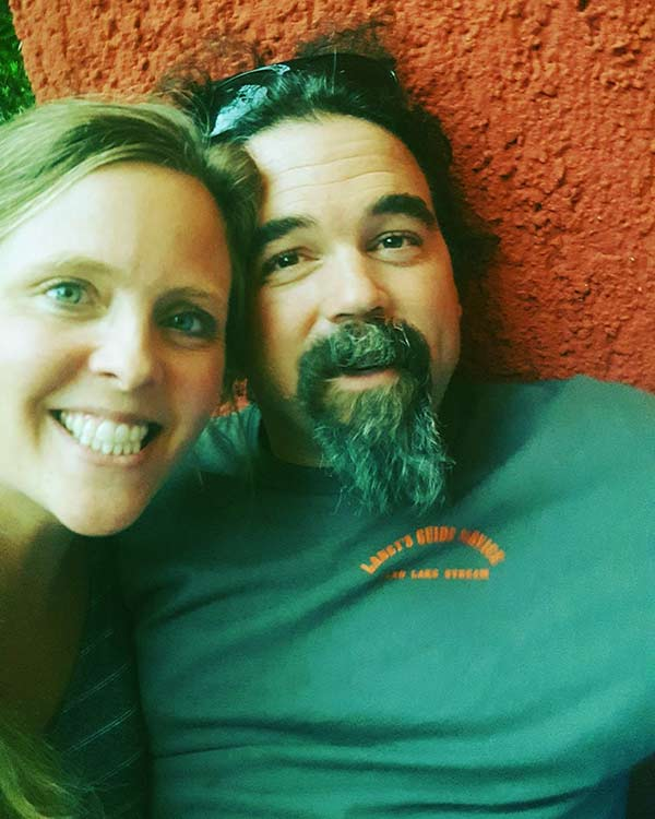 Image of Ashley Morrill with husband Ryan Eldridge