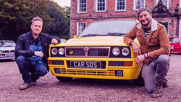 Image of Car SOS cast Tim Shaw and Fuzz Townshend