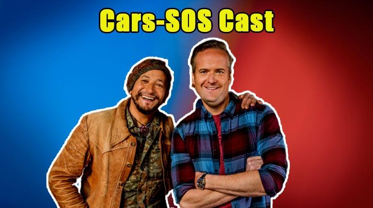 Image of Meet the Car SOS Cast; Tim Shaw & Fuzz Townshend's Net Worth