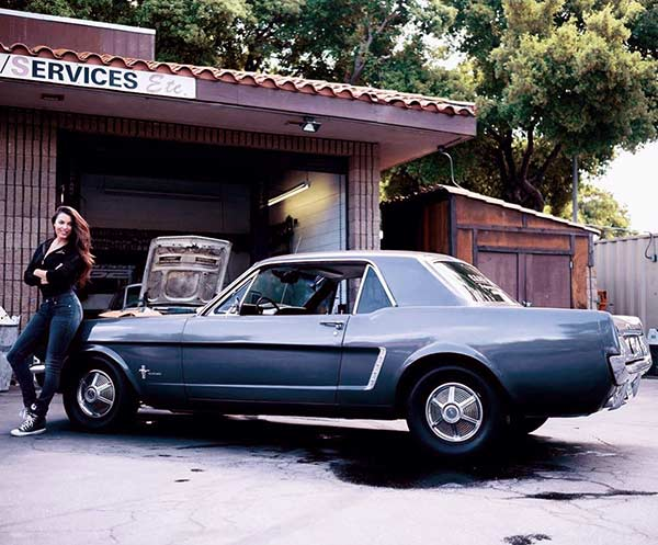 Image of Constance Nunes owns a Mustang