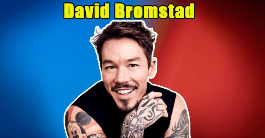 Image of Is David Bromstad married to wife or in a gay relationship with partner. His net worth, siblings, tattoo