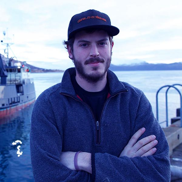 Image of Sean Dwyer, captain of Brenna A