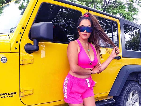 Image of Maria Dosal owns an expensive Jeep Wrangler